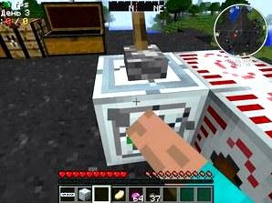 Как сделать генератор материи в minecraft