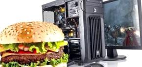 10 ошибок геймеров, которые едят за компьютером