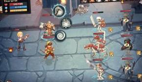 Dungeon Rushers – олдскульная RPG, пошаговые бои