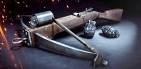 Гранатомётный арбалет в Battlefield 1 и карта с подбитым дирижаблем