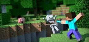 Minecraft: добываем алмазы, строим лодку, открываем портал в ад и печём печенье
