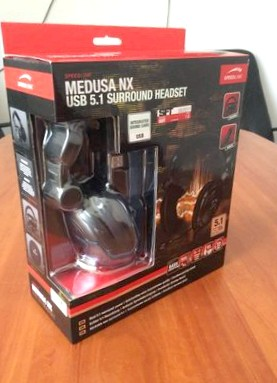 Обзор гарнитуры SPEEDLINK Medusa NX USB 5.1