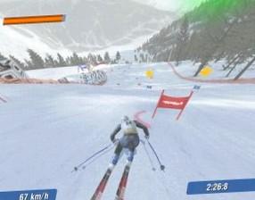 Обзор игры  Ski Racing 2006