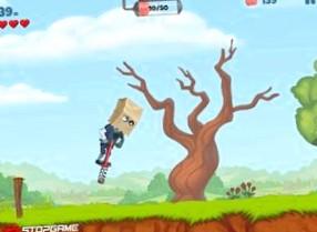 Обзор игры  Zombie's Got a Pogo