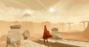 Обзор Journey (PS4). Человечки в пустыне