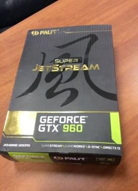 Обзор видеокарты Palit GeForce GTX 960 Super JetStream