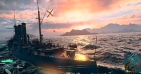 Обзор World of Warships. Огни святого Эльма
