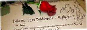 Особенности Borderlands 2 на ПК, любовное письмо от Claptrap