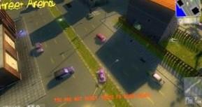 Street Arena - мультиплеерный экшн, наподобии первых GTA