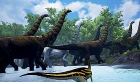 The Isle – тропические джунгли и сотни динозавров