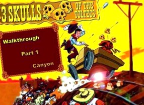 Three Skulls of the Toltecs: Прохождение игры