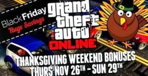 В GTA Online отмечают День благодарения и готовятся к Черной пятнице