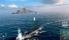 World of Warships – плеск волн, взрывы снарядов и уходящие под воду противники