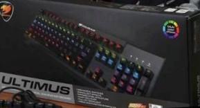 «Железная среда». Обзор продукции Cougar: механической клавиатуры Ultimus и мыши 600M